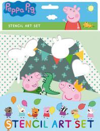 JIRI MODELS Šablony zábavné Peppa Pig