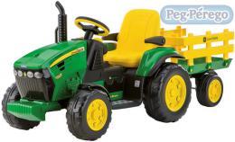 PEG PÉREGO Traktor  JOHN DEERE GROUND FORCE 12 V elektrický traktor pro dìti