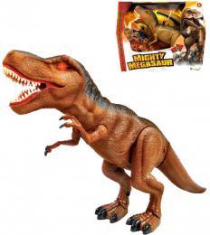 ADC Mighty Megasaur T-Rex chodící dinosaurus 40cm ještìr na baterie Svìtlo Zvuk