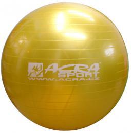 ACRA Míè gymnastický zlatý 85cm fitness balon rehabilitaèní do 150kg
