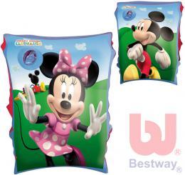 BESTWAY Nafukovací dìtské rukávky 1 pár Minnie/Mickey Mouse 2 druhy do vody