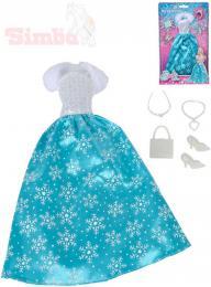 SIMBA Šaty pro panenku Steffi Love Ice Princess set s doplòky