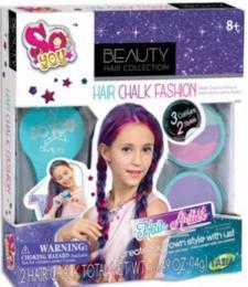 SO YOU Køídy dìtské barevné na vlasy set v krabici