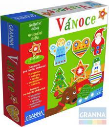 GRANNA Vánoce sváteèní dílna kreativní set výroba dekorací v krabici