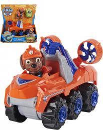 SPIN MASTER Tlapková Patrola Zuma set auto tematické s figurkou a dinosaurem