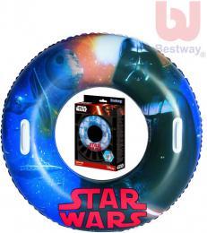 BESTWAY Kruh dìtský 91cm nafukovací plavací kolo Star Wars do vody