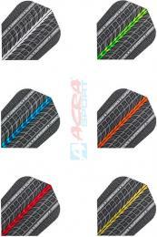 ACRA Letky náhradní HARROWS Supergrip na šipky set 3ks rùzné barvy