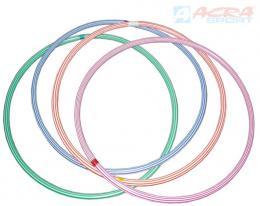 ACRA Obruè gymnastická hula hop 50cm dìtský fitness kruh 4 barvy