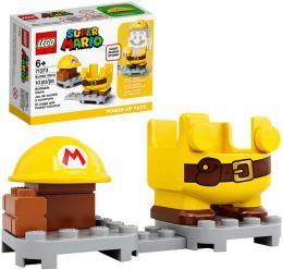 LEGO SUPER MARIO Obleèek stavitel doplnìk k figurce 71373 STAVEBNICE