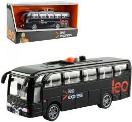 Autobus Leo Express 16cm hlášení øidièe a stewardky CZ na baterie Svìtlo Zvuk