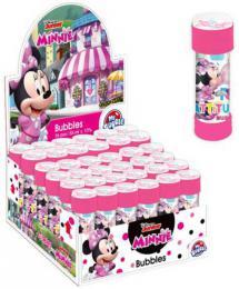 Bublifuk Disney Minnie Mouse 55ml dìtský bublifukovaè s kulièkovým labyrintem