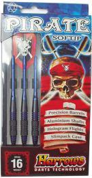 HARROWS Soft Pirate T18 Šipky s plastovým hrotem set 3ks blister