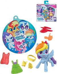 HASBRO MLP My Little Pony Módní párty set poník s obleèky a doplòky 3 druhy
