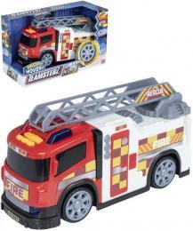Teamsterz auto hasièi s žebøíkem na baterie Svìtlo Zvuk plast