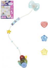 ZAPF BABY BORN Dudlík interaktivní na baterie pro panenku miminko Svìtlo Zvuk