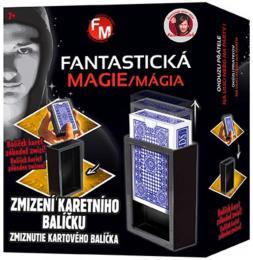 Pavel Kožíšek Zmizení karetního balíèku kouzelnická sada fantastická magie