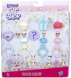 HASBRO Frosting Frenzy mini zvíøátko Littlest Pet Shop set 13ks s pøívìsky