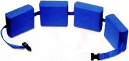 EFFEA Pás plavecký nastavitelný bloky modré na plavání do vody