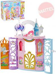 MATTEL BRB Barbie Dreamtopia zámek duhový herní set s doplòky plast