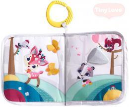 TINY LOVE Baby závìsná knížka se zvíøátky Tiny Princess Tales pro miminko