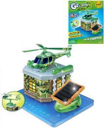 STAVEBNICE Vrtulník na solární pohon Greenex set 19 dílkù v krabici