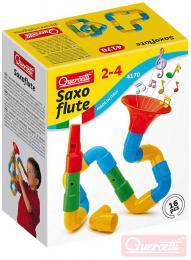 QUERCETTI Saxoflute výroba hudebních nástrojù stavebnice set 16 dílkù v krabici