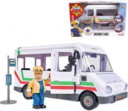 SIMBA Požárník Sam Trevorùv autobus 21cm funkèní prvky plast