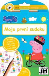 JIRI MODELS Moje první sudoku set se samolepkami Peppa Pig
