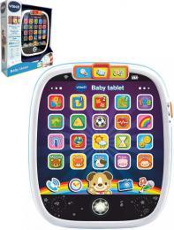 Vtech Baby tablet interaktivní nauèný na baterie Svìtlo Zvuk CZ plast