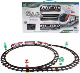 Sada vlaková vysokoroychlostní set vagony s tratí 308cm na baterie 40ks Svìtlo