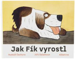 Baby knížka leporelo Jak Fík vyrostl Jiøí Šalamoun