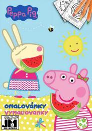 JIRI MODELS Omalovánky A4 Peppa Pig