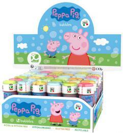 Bublifuk Peppa Pig 60ml dìtský bublifukovaè s hrou ve víèku