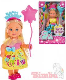 SIMBA Panenka Evièka 12cm narozeninový set Happy Birthday Evi Love 2 druhy