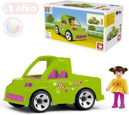 EFKO IGRÁÈEK MultiGO Set auto se zahradnicí v krabici STAVEBNICE