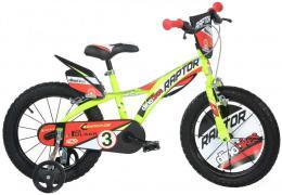 ACRA Dìtské kolo Dino Bikes 143GLN žluté chlapecké 14
