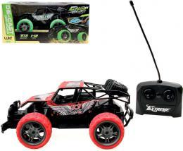 RC Auto buggy rychlostní 1:18 na vysílaèku 27MHz na baterie 2 barvy