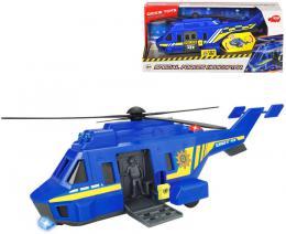DICKIE Helikoptéra policie Special Forces modrá na baterie Svìtlo Zvuk