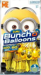 ZURU Balónky vodní bomby žluté Mimoni (Mimoòové) set 100ks 3 pack