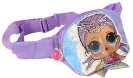 L.O.L. Surprise! Ledvinka 3D holèièí batùžek s ploutvièkou fialová
