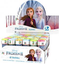 Bublifuk Frozen 2 (Ledové království) 60ml dìtský bublifukovaè s hrou ve víèku