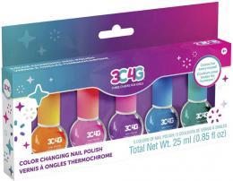 MAKE IT REAL Dìtské laky na nehty mìnící barvu set 5ks v krabici