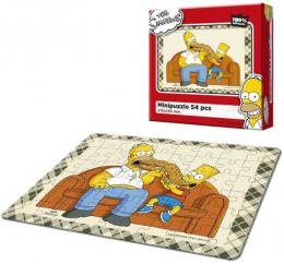 EFKO Mini puzzle The Simpsons Maxi bageta 21x15cm 54 dílkù skládaèka