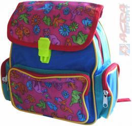 ACRA Batoh dìtský barevný pro malé dìti