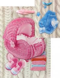 3D Taška dìtská dárková 3D Baby 18x24cm 4 druhy karton