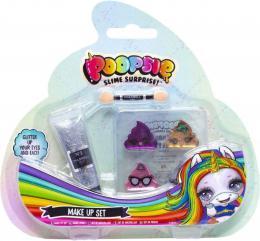 Poopsie slime surprise dìtský make-up set oèní stíny 4ks s doplòky blister