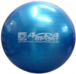 ACRA Míè gymnastický modrý 85cm fitness balon rehabilitaèní do 150kg