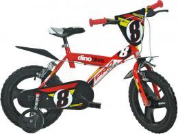 ACRA Dìtské kolo Dino Bikes 143GLN èervené chlapecké 14