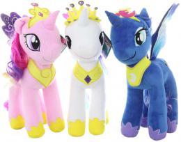 HASBRO PLYŠ My Little Pony koník èesací 3 druhy *PLYŠOVÉ HRAÈKY*