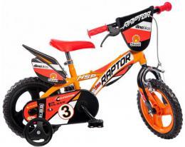ACRA Dìtské baby kolo Dino Bikes oranžové chlapecké 12